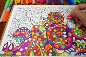 abstract-coloring-page-by-thaneeya